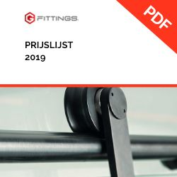 G Fittings prijslijst 2019